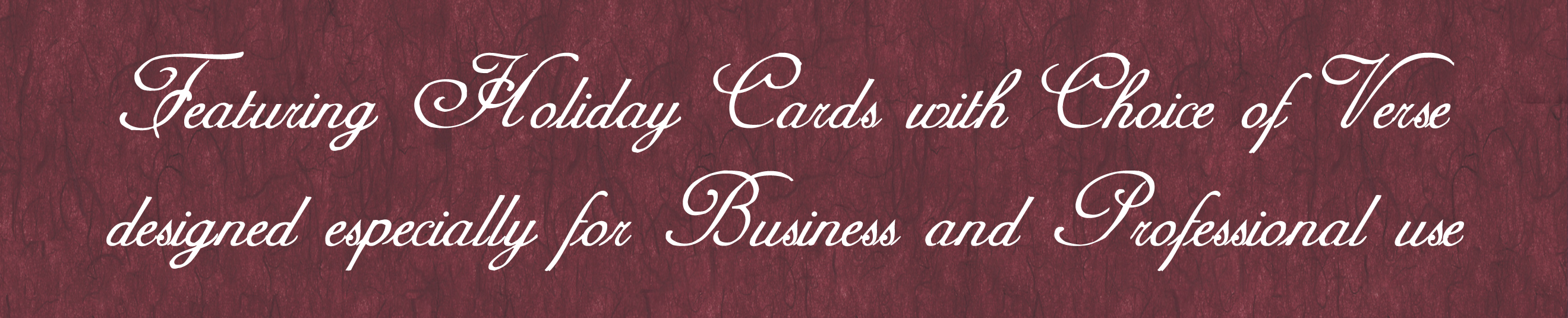 The Apex Collection Personalized Corporate Business Greeting Cards